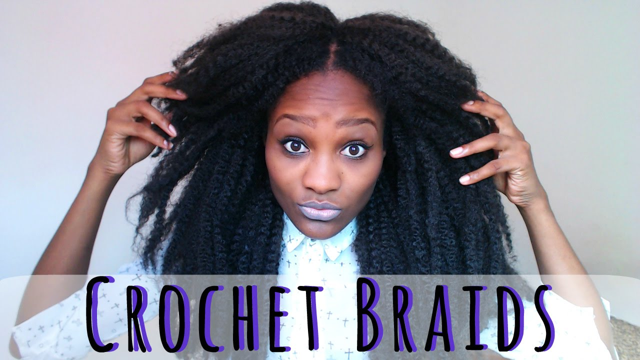 Que Crochet Hair : Como Fazer Crochet Braids Nuca - YouTube
