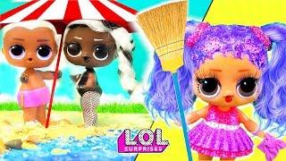 Мария В ШОКЕ! Витчи уехал на море с другой! Мультик про куклы лол сюрприз LOL dolls
