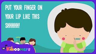 Quiet Please | Kids Song | Lyrics | Nursery Rhymes | Preschool Songs |