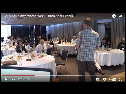 DVT's Agile Awareness Week - Breakfast Events