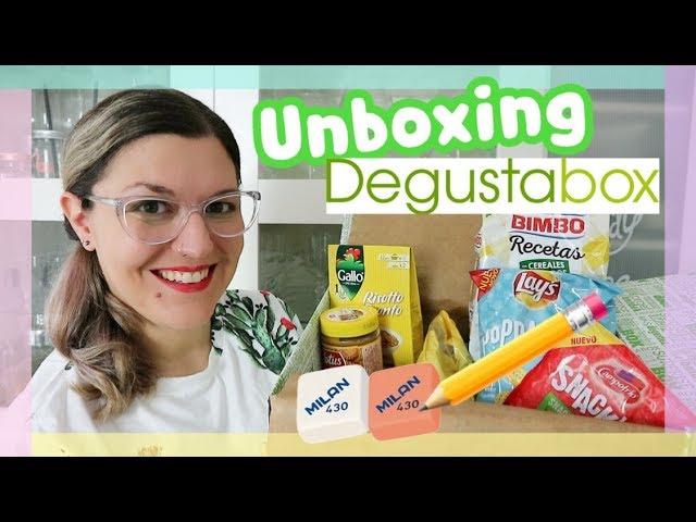 UNBOXING DEGUSTABOX Agosto 2018 | ESPECIAL HAUL VUELTA AL COLE