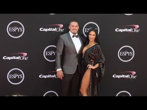 Derek Wolfe and Abbie Burrows 2017 ESPY Awards Red Carpet