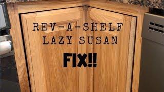 Rev-A-Shelf Lazy Susan Adjustment & Tips