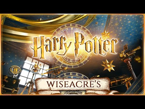 ✨ Wiseacre's Wizarding Equipment 🌠🔭[ASMR] Diagon Alley ✳ Harry Potter Ambience 💫Clocks + Astronomy 🪐
