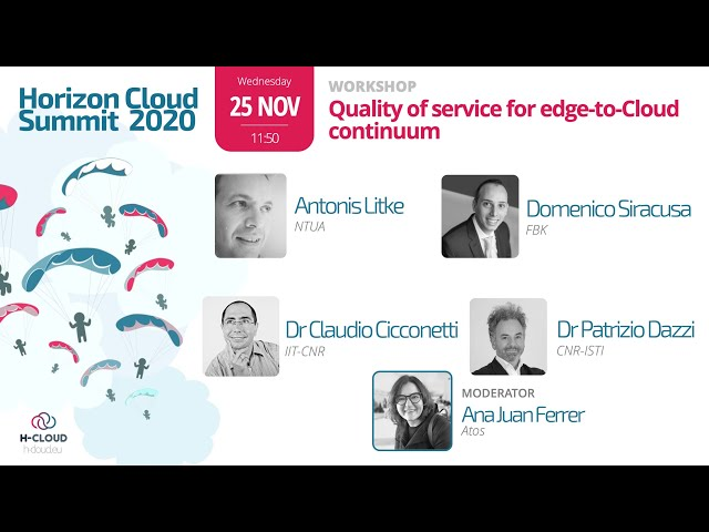 PLEDGER workshop: Quality of service for edge-to-Cloud continuum