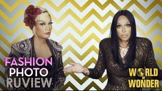rupaul s drag race fashion photo ruview with raja and raven season 7 episode 2