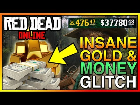 RED DEAD ONLINE SOLO UNLIMITED GOLD BAR & MONEY GLITCH! - MUST WATCH NOW! RED DEAD ONLINE GLITCH