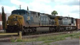 (HD) CSX Railfanning: Waycross, Georgia May 30, 2011