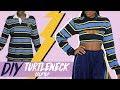 DIY Turtleneck Crop top | FASHION FIX EP 16 | Birabelle