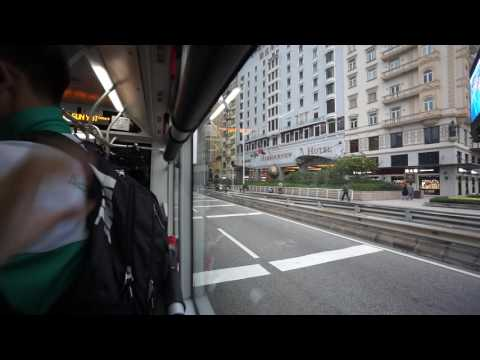 Macau, 3A bus ride to ferry terminal