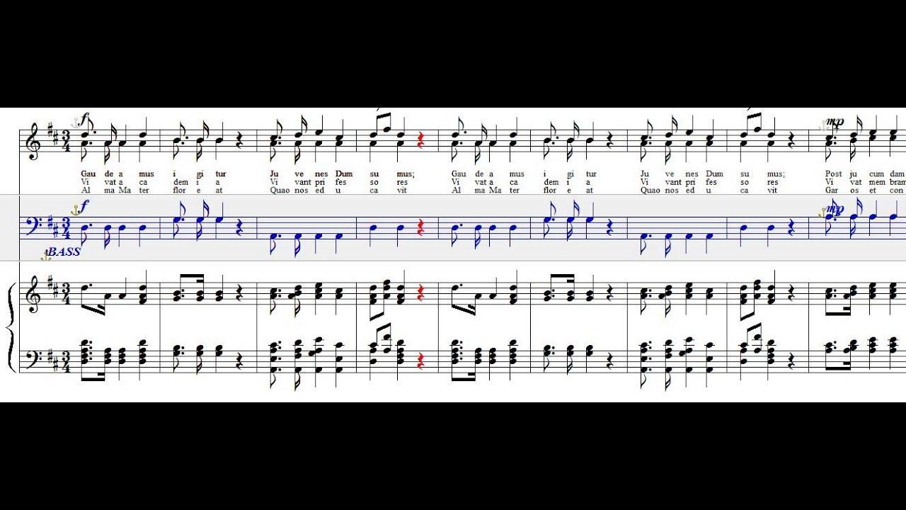 Gaudeamus igitur -BASS - YouTube