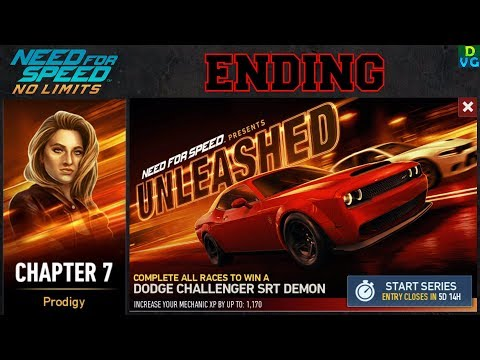 NFS No Limits | Unleashed - Dodge Challenger SRT Demon | Chapter 7 - Winning the car !