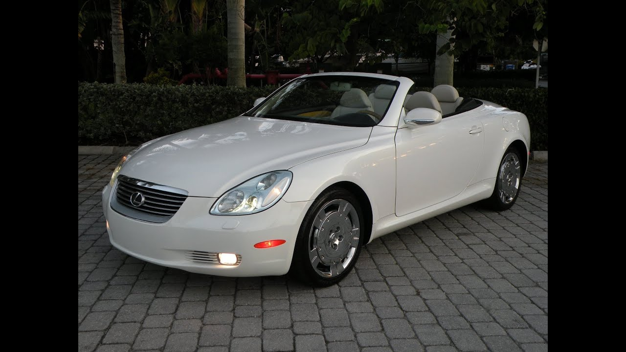 2004 lexus sc430 convertible for sale auto haus of fort. Black Bedroom Furniture Sets. Home Design Ideas