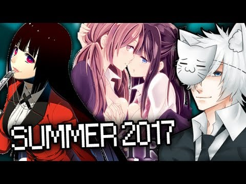 Summer 2017 Anime Season: What Will I Be Watching?