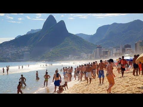 HOTTEST BEACH IN THE WORLD - RIO DE JANEIRO  BRAZIL