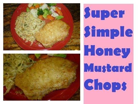 Super Simple Honey Mustard Pork Chops | Video Tutorial