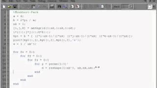 dft code in one hour with matlab part 5 reduction of k points