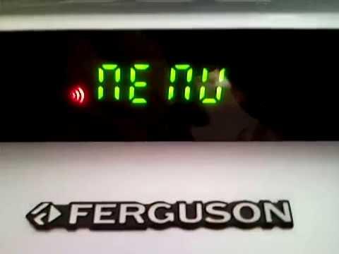 Młodzieńczy Tuner satelitarny Ferguson FK 6900 CR menu pl - YouTube JL52