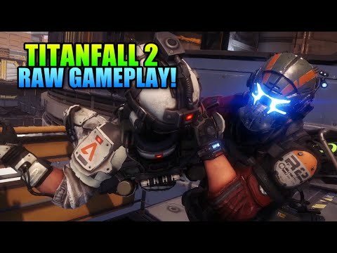 34 Minutes Titanfall 2 Multiplayer Raw Gameplay | Tech Test PS4