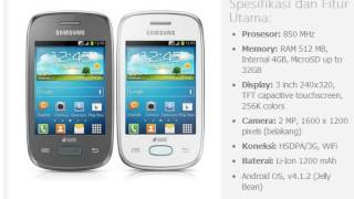 Harga Hp Samsung Galaxy Pocket Neo