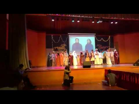 Fashion show , a day in arabia ( UCSI) part 5