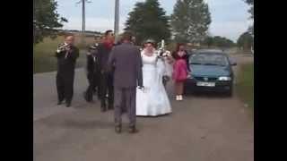 прикол на свадьбе / laid up on wedding