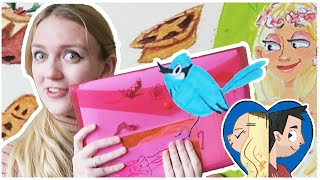 Steph's BIG ART FOLDER Tour! We found some of Steph's older drawing...