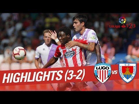 Resumen de CD Lugo vs CD Numancia (3-2)