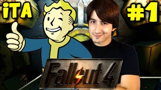 FALLOUT 4 GAMEPLAY ITA 1 Guerra Nucleare By GiosephTheGamer