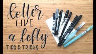 Letter Like a Lefty | Episode 3 | Tips & Tricks