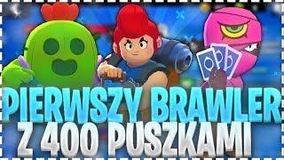 PIERWSZY BRAWLER Z 400 PUCHARKAMI!