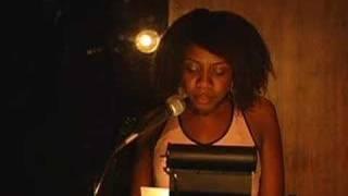 "Twanna Hines at ""In the Flesh Erotic Reading Series"" Blogger Sex Night"