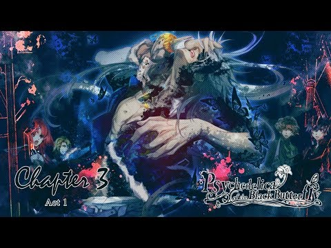 Psychedelica of the Black Butterfly - Chapter 3 - ( ACT 6 ) Walkthrough Gameplay ( PSVITA TV )