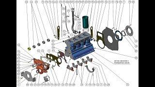 Қозғалтқышты жөндеу. ММЗ Д-245. Repair engine. MMZ D-245
