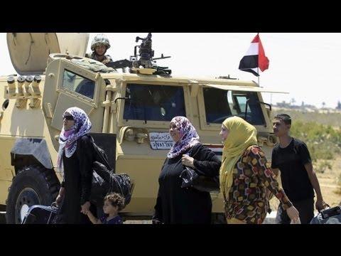 L'Egypte rouvre temporairement le poste frontière de Rafah