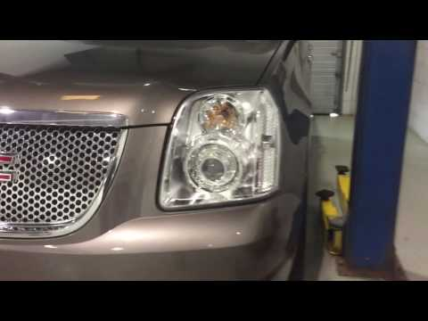 GMC Yukon Denali - Projector Conversion Complete