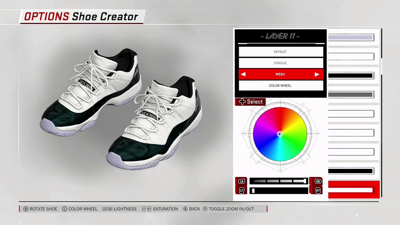 NBA 2K18 Shoe Creator - Air Jordan 11 Low
