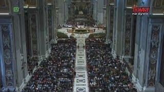 Msza Święta zamykająca XV Zgromadzaenie Ogólne Synodu Biskupów w Rzymie