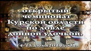 Открытый чемпионат Курской области по ловле донной удочкой. (г. Железногорск)