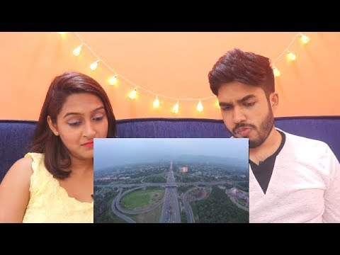 Indians react to Islamabad (Pakistan) Aerial View