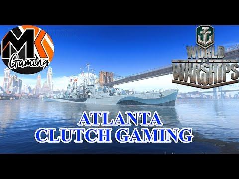 World of Warships - Atlanta - Clutch Gaming