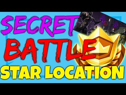Fortnite SECRET HIDDEN BATTLE STAR LOCATION WEEK 4 - Blockbuster Challenges Season 4 LEAKED WEEK 4