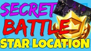 Fortnite SECRET HIDDEN BATTLE STAR LOCATION WEEK 4 - Blockbuster Challenges Season 4 LEAKED WEEK 4