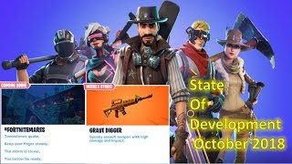 Fortnite - State of Development Dev Update!! New UI and Hero Loadout!!