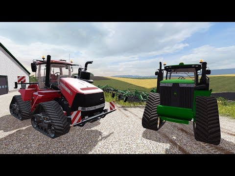 FARMING SIMULATOR 2017 | WE BOUGHT TWO NEW TRACKED TRACTORS + PLANTING & MOWING HAY