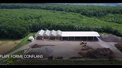 Groupe QUICLET AGRI-COMPOST CONFLANS Plate forme de Conflans