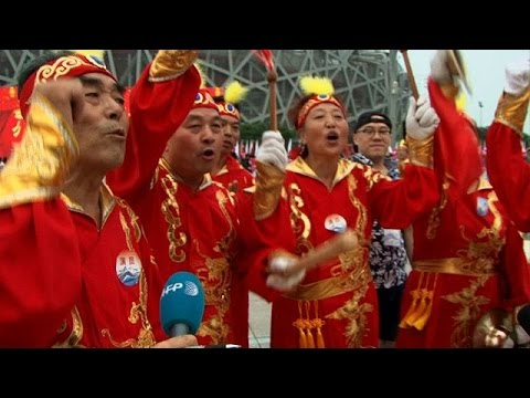 Beijing celebrates after winning bid for 2022 Winter Olympics