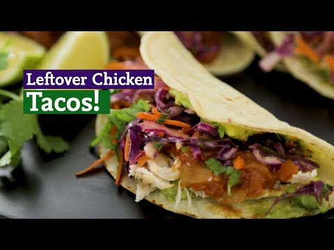 How to Make Lime & Cilantro Slaw Chicken Tacos