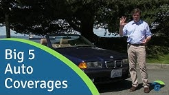 The Big 5 Auto Insurance Coverages