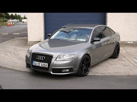 Audi A6 C6 : audi a6 c6 vinyl wrap in dark silver youtube ~ Nature-et-papiers.com Idées de Décoration